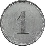 1 Pfennig - München (Oskar Kiesel & Cº ) – reverse