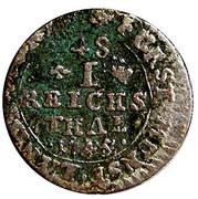 1/48 Thaler - Clemens August von Bayern – reverse