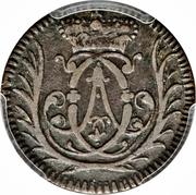 4 Pfennig - Clemens August – obverse