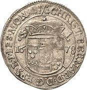 ⅛ Thaler - Christoph Bernhard von Galen – obverse
