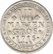 6 Mariengroschen - Franz Arnold – reverse