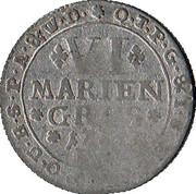 6 Mariengroschen - Clemens August – reverse