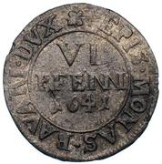 6 Pfennig - Ferdinand von Bayern – reverse
