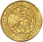 5 Ducats - Ferdinand von Bayern (Gold Pattern) – obverse
