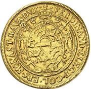 10 Ducats - Ferdinand von Bayern (Gold Pattern) – obverse