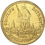 10 Ducats - Ferdinand von Bayern (Gold Pattern) – reverse