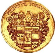 6 Ducats - Christoph Bernhard von Galen (Death of Christoph Bernhard von Galen) – obverse
