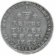 1/3 Reichsthaler - Maximilian Friedrich von Königsegg-Rothenfels – reverse