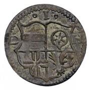 1 Heller - Johann IV von Hoya – obverse