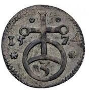 1 Heller - Johann IV von Hoya – reverse