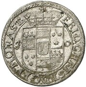 6 Pfennig - Friedrich Christian von Plettenberg – obverse