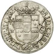 1 Schilling - Friedrich Christian von Plettenberg – obverse