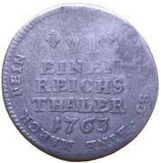 ⅙ Thaler - Maximilian Friedrich von Königseck – reverse