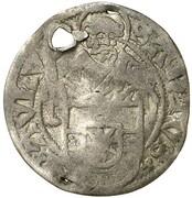 4 Pfennig - Franz von Waldeck – reverse