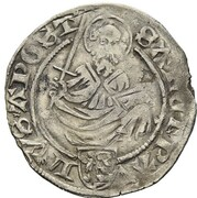 1 Weißpfennig - Johann von Pfalz-Simmern -  reverse