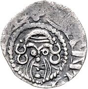 1 Denar - Otto II. von der Lippe – reverse