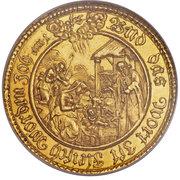 1 Schautaler - Ferdinand von Bayern (Gold pattern strike) – reverse