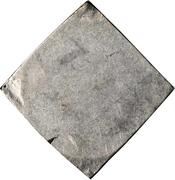 ½ Thaler (Klippe; Siege coinage) -  reverse