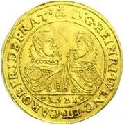 4 Ducat - Heinrich Wenzel & Karl Friedrich – obverse