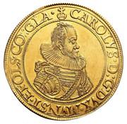 6 Ducat - Karl II – obverse