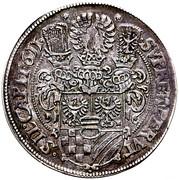 1 Thaler - Karl II (Oels) – reverse