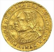 2 Ducat - Johann (Memorial to Karl I) – obverse