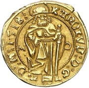 1 Goldgulden - Karl I (Reichenstein - Mining - Goldgulden) – obverse