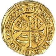 1 Goldgulden - Karl I (Reichenstein - Mining - Goldgulden) – reverse