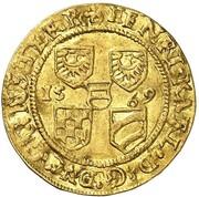 1 Ducat - Heinrich III & Karl II (Reichenstein - Mining - Dukat) – obverse