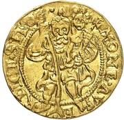 1 Ducat - Heinrich III & Karl II (Reichenstein - Mining - Dukat) – reverse