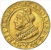 3 Ducat - Joachim, Heinrich II, Johann and Georg (Memorial to Karl I) – obverse