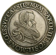 ½ Thaler - Karl II (Death of Karl II) – obverse