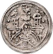 1 Brakteat - Kuno I. – reverse