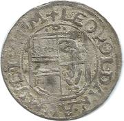 ½ Batzen - Leopold V (Guebwiller) – obverse