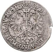 3 Kreuzer - Andreas of Austria – reverse