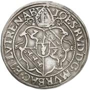 ½ Guldentaler - Johann Rudolf Stör von Störenberg – obverse