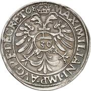 ½ Guldentaler - Johann Rudolf Stör von Störenberg – reverse