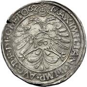 1 Guldenthaler - Johann Rudolph Stör von Störenberg – reverse