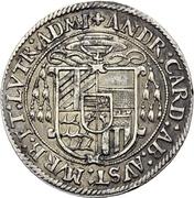 ½ Guldenthaler - Andreas von Österreich – obverse