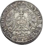 ½ Guldenthaler - Andreas von Österreich – reverse