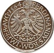 1 Thaler - Johann Rudolph Stör von Störenberg – reverse