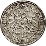 ½ Guldenthaler - Johann Ulrich von Raitenau – reverse