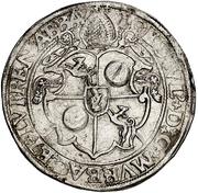 1 Guldenthaler - Johann Ulrich von Raitenau – obverse
