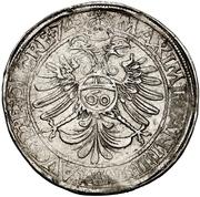 1 Guldenthaler - Johann Ulrich von Raitenau – reverse