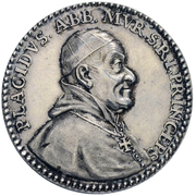 5 Ducat - Placidus von Zurlauben (silver trial) – obverse
