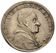Ducat - Placidus von Zurlauben (silver trial) – obverse