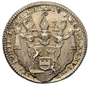 Ducat - Placidus von Zurlauben (silver trial) – reverse