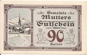 90 Heller (Mutters) -  reverse