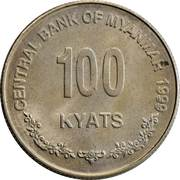 100 Kyats – reverse