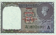 1 Rupee (Burma Currency Board) – obverse